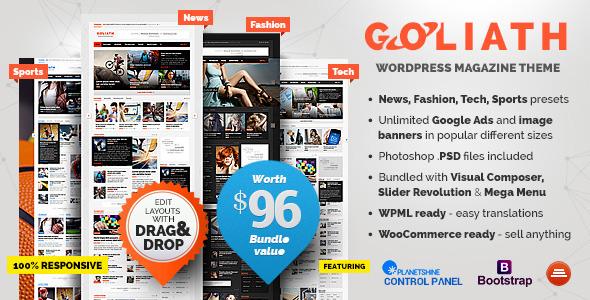 Exceptional GOLIATH   Ads Optimized News U0026 Reviews Magazine   News / Editorial Blog /  Magazine