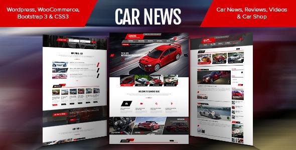 Car News - Blog, Reviews & Shop by pixarwpthemes   ThemeForest