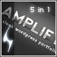 Amplify - 5 in 1 Portfolio Theme - ThemeForest Item for Sale