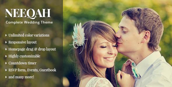 Neeqah - Wedding WordPress Theme by ThemeWarriors | ThemeForest