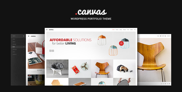 Canvas Interior Furniture Portfolio WP Theme by GT3themes