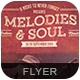 Melodies & Soul Flyer/P-Graphicriver中文最全的素材分享平台