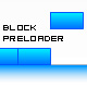 Block preloader with bounce