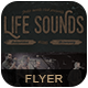 Life Sounds Flyer/Poster-Graphicriver中文最全的素材分享平台