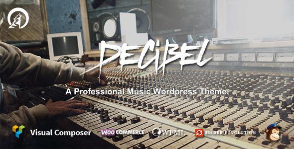 Decibel - Professional Music WordPress Theme by Wolf-Themes ...