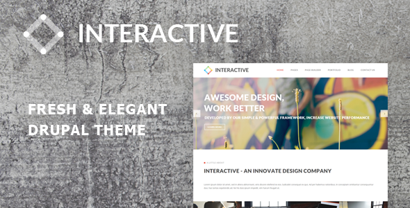 drupal interactive themes