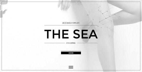 The sea responsive coming soon page by ex nihilo themeforest pronofoot35fo Choice Image