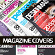 Photoshop PSD Magazine Cover Template | Graphic Design | Print Ready!