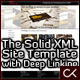 The Solid XML Site Template with Deep Linking