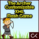 The Archer Customizable XML Flash Game