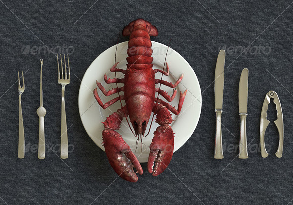 3D model of Ocean Lobster