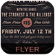 Vintage Party Night Flyer P-Graphicriver中文最全的素材分享平台