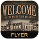 Welcome Bar Flyer/Poster-Graphicriver中文最全的素材分享平台