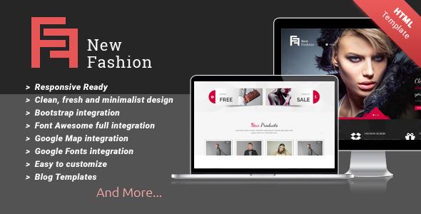New Fashion Multi-purpose HTML5 Templates by kopasoft | ThemeForest