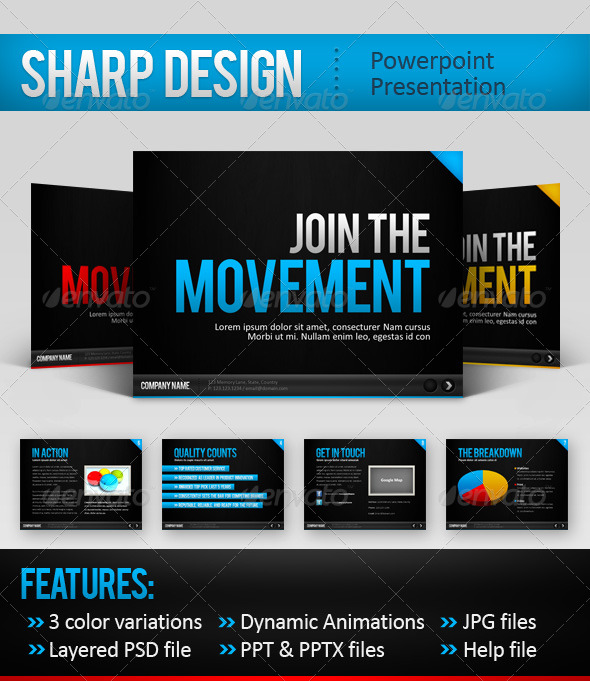business powerpoint templates free download. SharpDesign Powerpoint