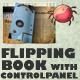 Flipping Book with Control Panel