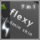 Flexy - liquid admin skin - 7 in 1 - ThemeForest Item for Sale