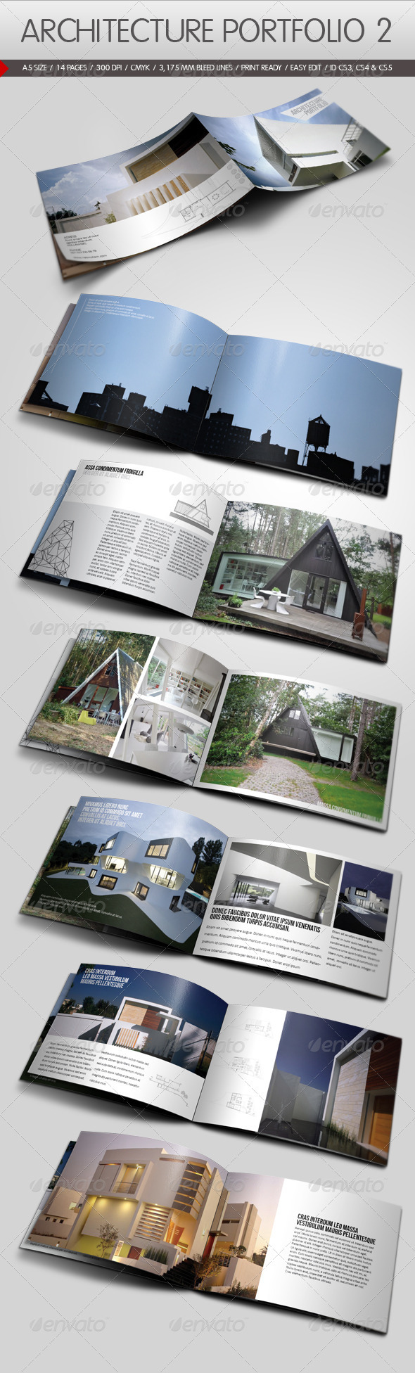 Free Indesign Portfolio Template - 20 best indesign brochure templates for creative business marketing creative agency indesign