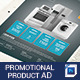 Product Promo Flyer Template-Graphicriver中文最全的素材分享平台