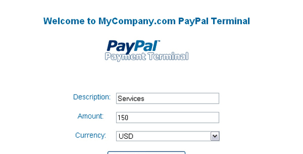 [CodeCanyon] PayPal Payment Terminal