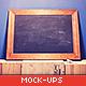 Blackboard / Chalkboard Moc-Graphicriver中文最全的素材分享平台