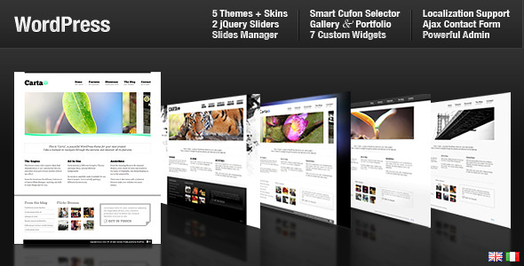 Carta - All In One Premium WordPress Themes for Sale