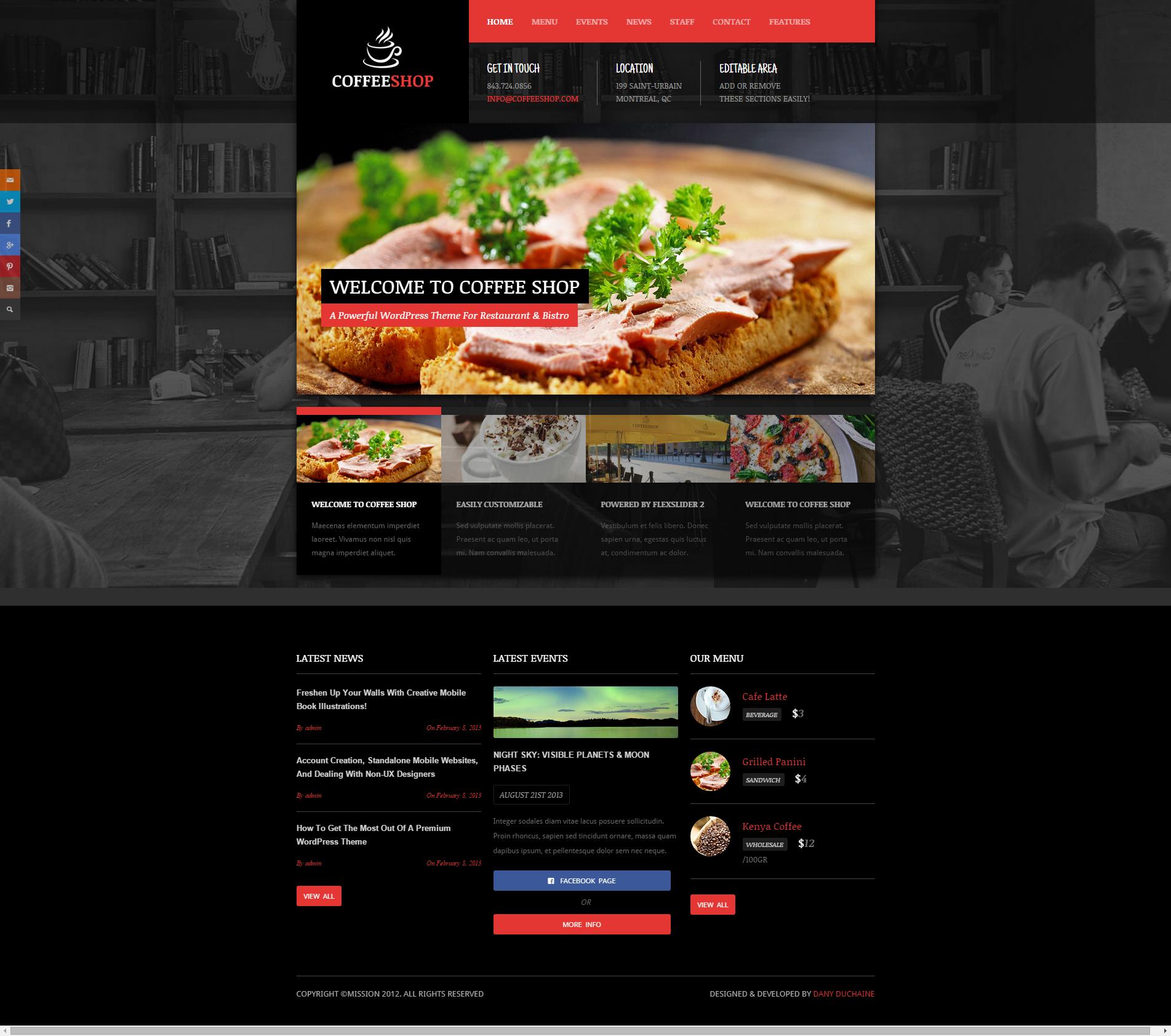 Website Templates For Restaurants 8189176 Hitori49fo