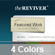 theREVIVER - Portfolio + Blog Template - 4 in 1