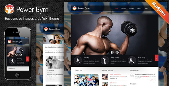 Power Gym - Responsive Wordpress Theme by SindevoThemes | ThemeForest