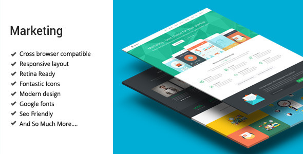 Marketing - Startup Landing Page Template by Epic-Themes | ThemeForest