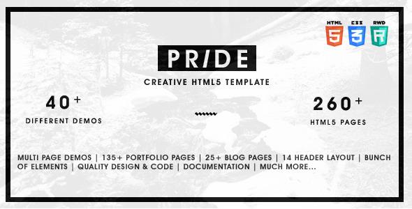 Pride - Multipurpose HTML5 Template
