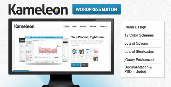 Kameleon - Premium Business & Product Template (Business) for Sale