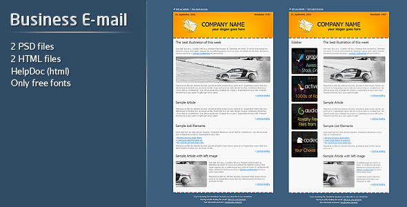 Business e mail template by firefleur themeforest business e mail template newsletters email templates cheaphphosting Gallery
