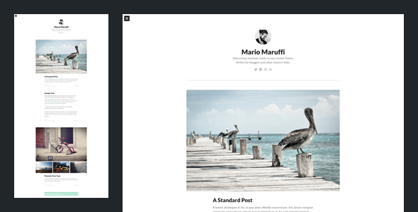 Persona - Tumblr Theme by Understandable_co | ThemeForest