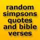 Random Homer Simpson Quotes & Bible Verses
