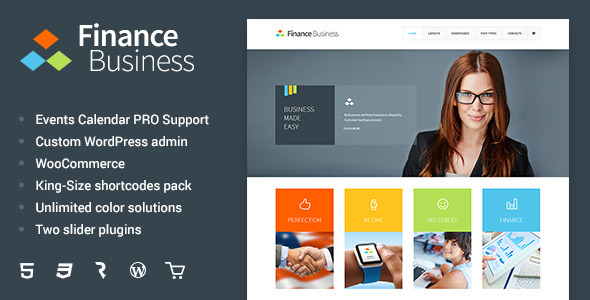 Finance business company office corporate theme by cmsmasters finance business company office corporate theme business corporate accmission