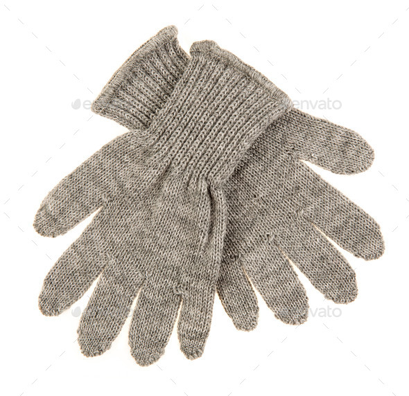 Knitted Woolen Baby Gloves Stock Photo By Cookelma Photodune
