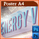 Energy Villa - Poster Template