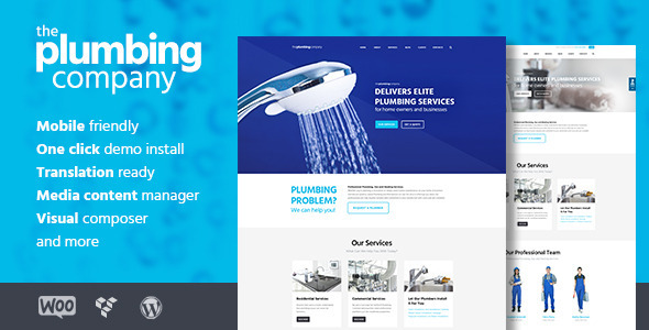 Plumbing - Repair, Building & Construction Theme by ThemeREX ...