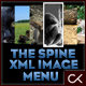 The Spine XML Image Menu