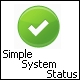 Simple System status - WorldWideScripts.net Vare til salg