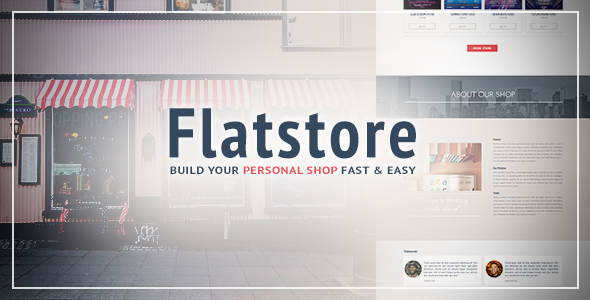 Flatstore - eCommerce Muse Template for Online Shop by styleWish ...