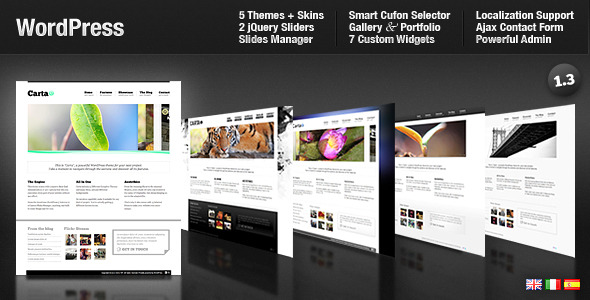 Themeforest - Carta - All In One Premium WordPress - FULL VERSION
