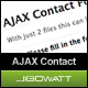 AJAX Fomu ya Mawasiliano - WorldWideScripts.net Item kwa Sale