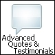 Advanced Quotes & Testimonials - WorldWideScripts.net Item for Sale