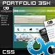 Immersive Animated Portfolio Template 3 Skins