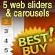 12 BANNERS -4 Sizes + Tags, Ribbons, Buttons,...