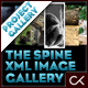 The Spine XML Product Viewer Image Gallery