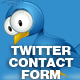Twitter Contact Page