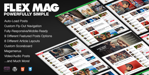 Flex Mag - Responsive WordPress News Theme by MVPThemes | ThemeForest